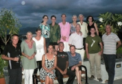 A pre-Christmas celebration with other Kiwi volunteers in Dili.