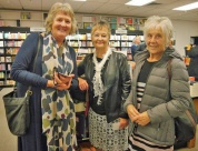 Joce Chalmers, Margaret Jarrold and Glenys Samways realised they are related.
