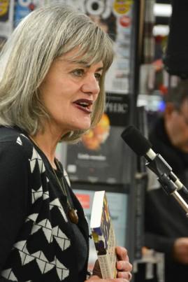 Publisher Nicola Legat of Massey University Press